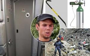 Cơ phó Airbus A320 đeo mặt nạ dưỡng khí trước khi tự sát