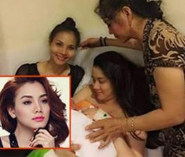 Phim - Trang Nhung hạnh phúc đón con gái đầu lòng