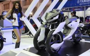Ô tô - Xe máy - Ngắm siêu mô tô 3 bánh hàng khủng Yamaha 03GEN-f
