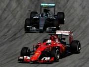 Đua xe F1 - F1: Nguyên nhân Mercedes đánh mất lợi thế ở Sepang