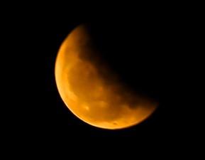 """Tin tức trong ngày - Giới trẻ ngẩn ngơ ngắm """"trăng máu"""" ngả màu"""