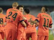 Bóng đá Tây Ban Nha - Giúp Barca thắng nhọc, đồng đội ngưỡng mộ Mathieu