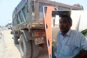 Tin tức trong ngày - Trần tình của tài xế xe ben đổ đất lấp người cản trở thi công