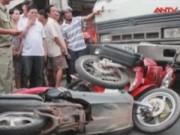 Video An ninh - Tai nạn kép trên QL13, 1 người chết, 5 người nguy kịch