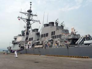 Tin tức trong ngày - Sức mạnh cặp chiến hạm Hoa Kỳ vừa cập cảng Đà Nẵng