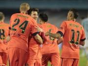 """Bóng đá Tây Ban Nha - Barca thắng nhọc: Đôi khi chỉ cần """"xấu xí"""""""