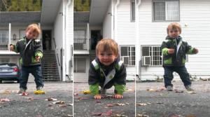 Bạn trẻ - Cuộc sống - Clip: Cậu bé 2 tuổi nhảy popping như người lớn