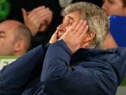 Bóng đá - Man City thua sốc, Pelligrini thừa nhận hết cửa vô địch