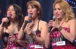 Ca nhạc - MTV - 3 cô gái hát giọng nam khiến khán giả kinh ngạc