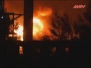An ninh thế giới - Nổ kinh hoàng tại nhà máy hóa chất ở Trung Quốc