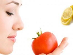 Da hết nhờn, mụn, xám xịt nhờ cà chua