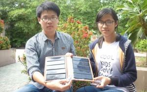 Giáo dục - du học - Học sinh sáng chế pin năng lượng mặt trời