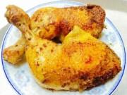 Ẩm thực - Đùi gà nướng ngũ vị giòn mềm, vàng óng