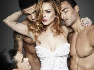 Ca nhạc - MTV - Lindsay Lohan tái xuất khêu gợi trên tạp chí đàn ông