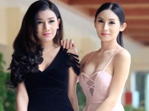 Mẫu chuyển giới Thái mặc váy ngắn dạo chơi ở Hà Nội