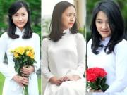 8X + 9X - Nữ sinh trường Ams tinh khôi trong tà áo dài trắng
