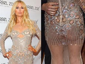Thời trang - Paris Hilton hớ hênh trên thảm đỏ