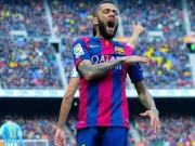 Bóng đá Tây Ban Nha - Alves quyết ra đi dù Barca đã nhún nhường