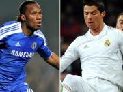 """Bóng đá - """"Dream Team"""" của Mourinho: CR7 sánh bước bên Drogba"""