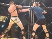 Võ thuật - Quyền Anh - Chấn động UFC: Nữ võ sĩ đả bại tay đấm nam