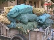 An ninh Kinh tế - Tiêu dùng - Vĩnh Phúc: Bắt vụ vận chuyển hơn 1 tấn thực phẩm bốc mùi