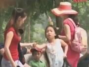 """An ninh Xã hội - Camera giấu kín: """"Mẹ mìn"""" bắt trẻ em đi ăn xin"""