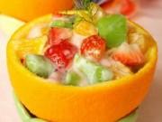Cách làm sữa chua mít, hoa quả dầm ngon nhất tại nhà