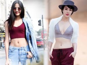 Thời trang - Xốn xang ngắm người đẹp Việt mặc áo hở eo