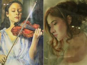 Bạn trẻ - Cuộc sống - Thiếu nữ tuyệt đẹp qua những nét vẽ tranh màu nước