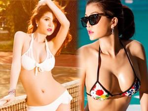 Bà mẹ 1 con Oanh Yến thả dáng nóng bỏng với bikini