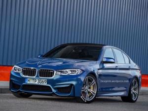 """Tin tức ô tô - xe máy - BMW M5 thế hệ mới """"lên sóng"""""""