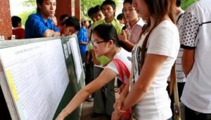 Giáo dục - du học - Có thể dùng đồng thời 3 giấy chứng nhận kết quả thi