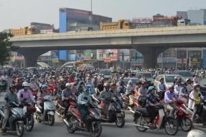 Tin tức Việt Nam - Hà Nội giao chỉ tiêu thu phí đường bộ cho các quận