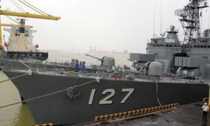 Tin tức trong ngày - Hai chiến hạm tự vệ biển Nhật Bản sắp thăm Đà Nẵng