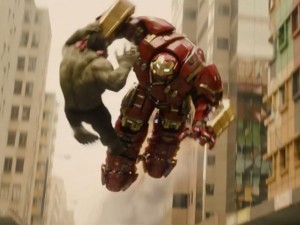 Cảnh chiến đấu hoành tráng của Người sắt trong Avengers 2