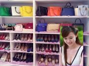 8X + 9X - Hot girl Midu khoe tủ đồ đầy hàng hiệu