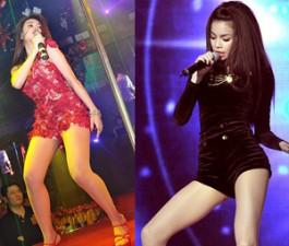 """Sao ngoại-sao nội - Hoàng Thùy Linh sexy và """"sung"""" không kém Hà Hồ"""