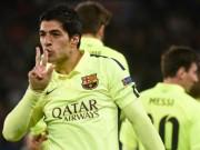 """Bóng đá - Thế giới """"phát cuồng"""" với tuyệt kĩ xâu kim của Suarez"""