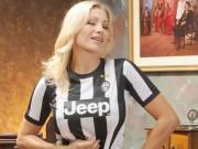 """Bóng đá - Cựu người mẫu hứa """"thưởng nóng"""" nếu Juventus vô địch C1"""