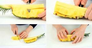 Ẩm thực - Clip: Mẹo gọt và trang trí dứa siêu nhanh mà đẹp