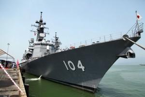 Tin tức trong ngày - Ngắm dàn vũ khí trên cặp chiến hạm Nhật vừa đến Đà Nẵng