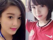 """Tin bên lề bóng đá - Đại chiến Chelsea-MU: Fan Việt """"yêu"""" hot girl hay Á hậu?"""