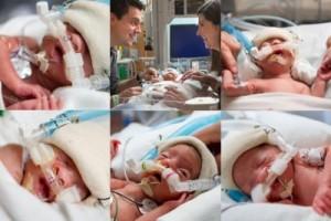 Bạn trẻ - Cuộc sống - Bà mẹ Mỹ hạnh phúc với kỷ lục sinh 5 bé gái