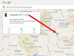 Phần mềm ngoại - Tìm smartphone Android bị mất bằng... Google