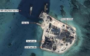 Tin tức trong ngày - Phản đối Trung Quốc cải tạo đảo ở Trường Sa, Hoàng Sa