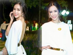 Người mẫu - Hoa hậu - Vũ Ngọc Anh mặc kín đáo vẫn ngọt ngào, hấp dẫn