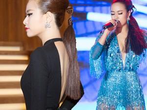 Thời trang - Hoàng Thùy Linh gây ấn tượng bằng 2 bộ váy gợi cảm