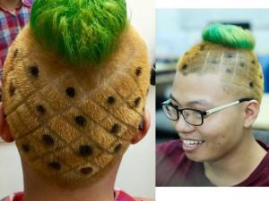 """Bạn trẻ - Cuộc sống - Chàng trai cắt tóc quả dứa: """"Đừng đùa với dân mạng"""""""