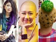 """8X + 9X - Những kiểu tóc """"không giống ai"""" của giới trẻ Việt"""