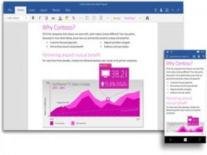 Phần mềm ngoại - Microsoft Office cho Windows 10 di động ra mắt cuối tháng này